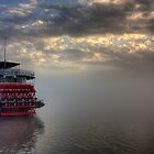 Paddlewheel in Fog by steini