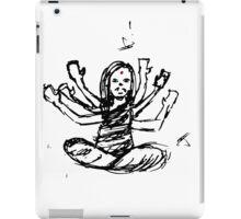 Hindu Jesus Scribble Doodle iPad Case/Skin