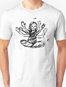 Hindu Jesus Scribble Doodle T-Shirt