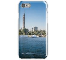 Nile Riverfront at Cairo, Egypt Panorama iPhone Case/Skin