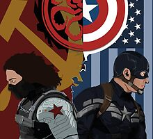 CAPTAIN AMERICA: THE WINTER SOLDIER by EvanTapper