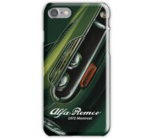 1972 Alfa Romeo Montreal iPhone Case/Skin