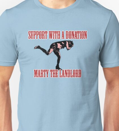 Marty the landlord Unisex T-Shirt
