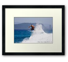 Busting Out Framed Print