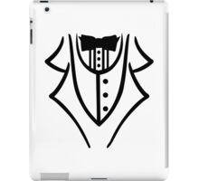 Black tuxedo iPad Case/Skin