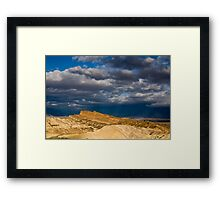 Sunlight over Death Valley Framed Print