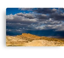 Sunlight over Death Valley Canvas Print