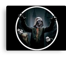 Zombie Vader Land Canvas Print