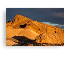 Death Valley Hill at Sunrise Canvas Print