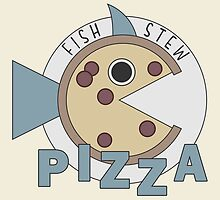 Fish Stew Pizza Logo by tehks