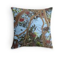 Galahs Roosting Throw Pillow