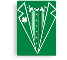 Irish Tux Canvas Print