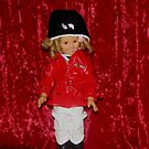 Shirley Temple Doll by Linda Miller Gesualdo