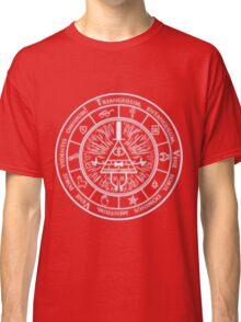 Bill Cipher Gravity Falls Symbols and Incantation  Classic T-Shirt