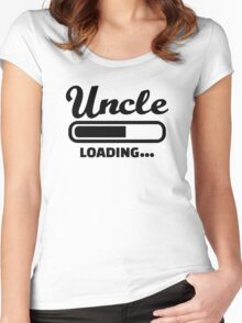 Uncle loading Women's Fitted Scoop T-Shirt