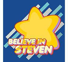 Believe In Steven Photographic Print