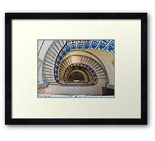 Somerset House staircase, London Framed Print