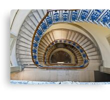Somerset House staircase, London Canvas Print