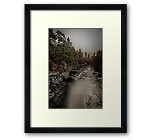 River Moriston Framed Print