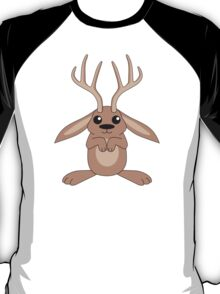Brown Jackalope T-Shirt