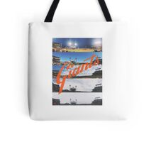 San Francisco Giants Season Ticket View at AT&T Park Tote Bag