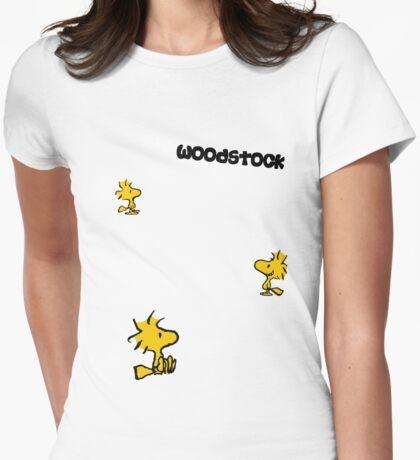 For all those Woodstock lovers Womens Fitted T-Shirt