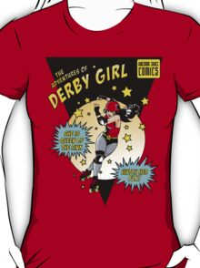The Adventures of Derby Girl T-Shirt