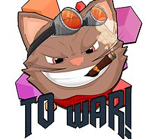 To War! Graphic Tee by KylesArt