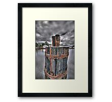 Holding Strong Framed Print