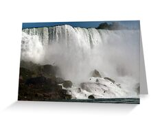 Mighty Niagara Greeting Card