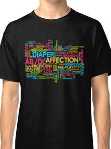 AB/DL words cloud Classic T-Shirt