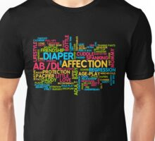 AB/DL words cloud Unisex T-Shirt