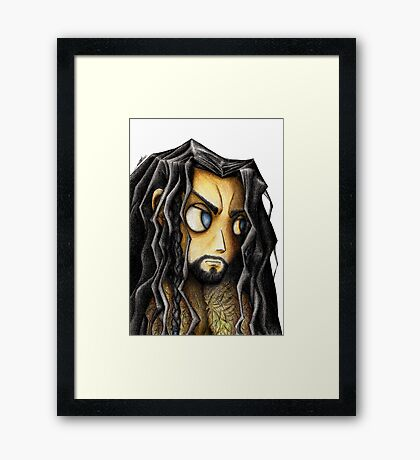 A Sickness of the Mind Framed Print
