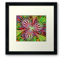 Curious with Envy Framed Print