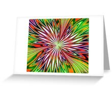 Curious with Envy Greeting Card