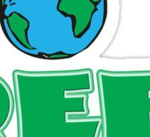 Go Green Sticker
