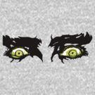 White Zombie (1930s Zombie Film - eyes only) by 45thAveArtCo