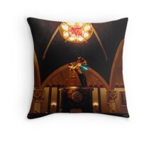 Belle and Beast Be Our Guest- Magic Kingdom Throw Pillow