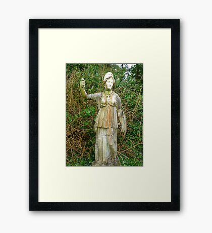 The Very First Selfie Framed Print