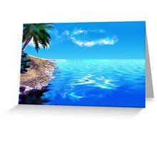 Afternoon Surf Greeting Card