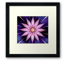 Deliciously Pink Framed Print