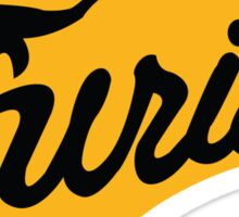 Baseball Furies' Logo, The Warriors Sticker
