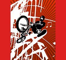 BMX Pop Art Red Unisex T-Shirt