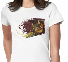 Red Hair & the Rub of the Green Womens Fitted T-Shirt
