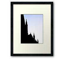 CATHEDRAL CONTRAST - LAUNCESTON Tasmania Framed Print