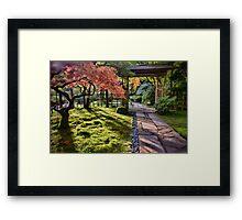 Roji Niwa Framed Print
