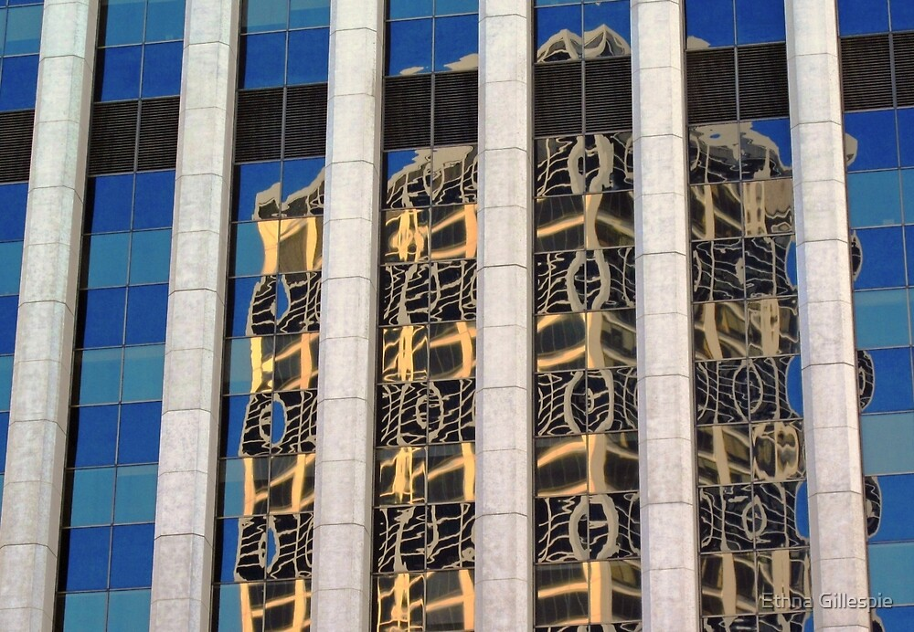 Financial Reflections II  by Ethna Gillespie
