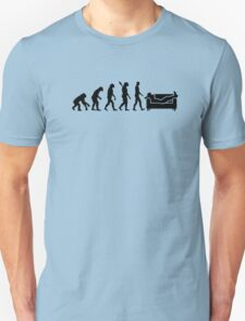 Evolution couch T-Shirt