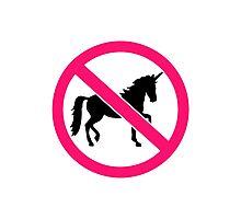 No unicorns Photographic Print