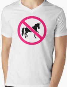 No unicorns Mens V-Neck T-Shirt